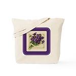 Bouquet of Violets Tote Bag