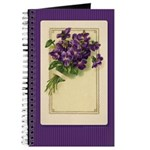 Bouquet of Violets Journal