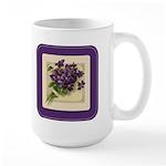 Bouquet of Violets Large Mug