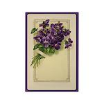 Bouquet of Violets Rectangle Magnet (10 pack)