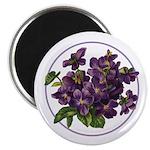 Bouquet of Violets Magnet