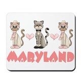 Maryland Kitty Cat Mousepad