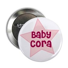 "Baby Cora 2.25"" Button (100 pack)"