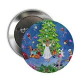 "Nutcracker Christmas Ballet 2.25"" Button"