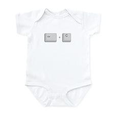 Ctrl+C Copy Infant Bodysuit