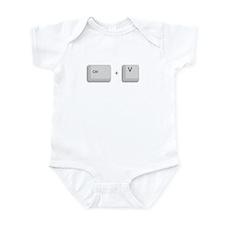 Ctrl+V Paste Infant Bodysuit