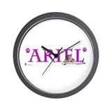Unique Ariel Wall Clock