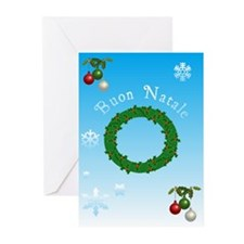 Italian Christmas Cards Greeting Cards (Pk of 20)