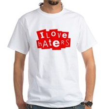 I Love Haters (Red) Shirt