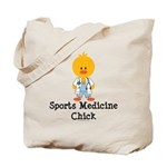 Sports Medicine Chick Tote Bag