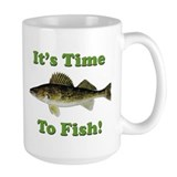 "Genuine Walleye ""It's Time to Fish"" Mug"