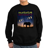 2010 Annular Eclipse (design 2) Sweatshirt