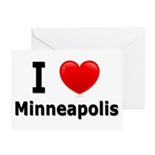 I Love Minneapolis Greeting Card