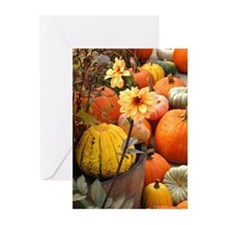 Autumn Flower Greeting Cards (Pk of 20)