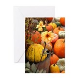 Autumn Flower Greeting Card
