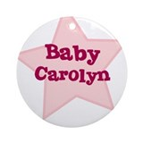 Baby Carolyn Ornament (Round)