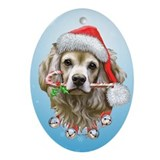Cocker Spaniel Ornament (Oval)