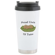 Proud Uncle Of Twins Ceramic Travel Mug