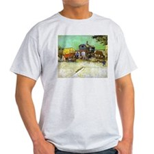 Gypsy Camp near Arles T-Shirt
