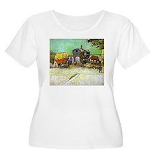 Gypsy Camp near Arles T-Shirt