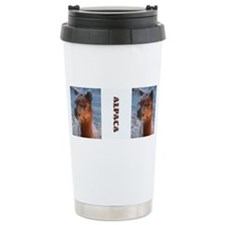 Alpaca Drink Container - Ceramic Travel Mug
