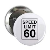 "Speed Limit 60 2.25"" Button (10 pack)"
