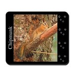 Chipmunk and Tracks Mousepad
