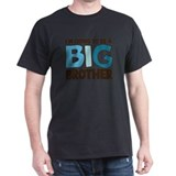 ADULT SIZES i'm going to be a big brother t-shirt
