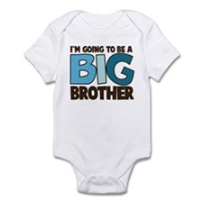 i'm going to be a big brother t-shirt Infant Bodys