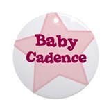 Baby Cadence Ornament (Round)
