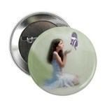 Butterfly Girl Button