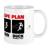 Zombie Escape Plan Small Mug