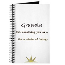 Cute Granola Journal