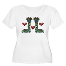 Whimsical Christmas Kitties T-Shirt