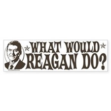 What Would Reagan Do Bumper Sticker (10 pk)