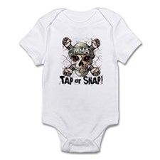 Tap or Snap MMA Infant Bodysuit