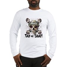 Tap or Snap MMA Long Sleeve T-Shirt