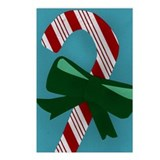 Candy Cane Postcards (Package of 8)