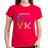 Dream In CMYK Tee