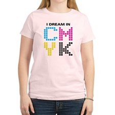 Dream In CMYK Women's Light T-Shirt