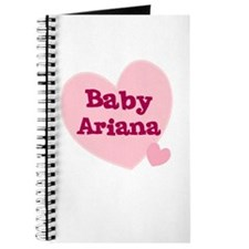 Baby Ariana Journal