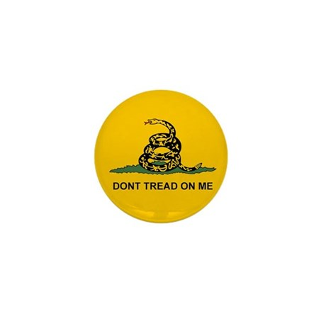 Gadsden Dont Tread Mini Button (10 pack)