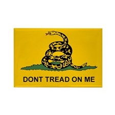 Gadsden Dont Tread Rectangle Magnet