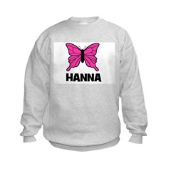 Butterfly - Hanna Kids Sweatshirt