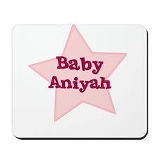 Baby Aniyah Mousepad