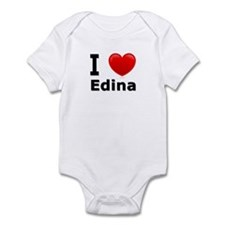 I Love Edina Infant Bodysuit