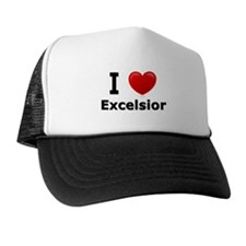 I Love Excelsior Trucker Hat