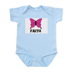 Butterfly - Faith Infant Creeper