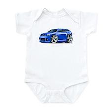 Dodge Magnum Blue Car Infant Bodysuit