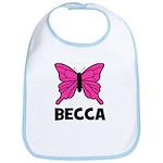 Butterfly - Becca Bib